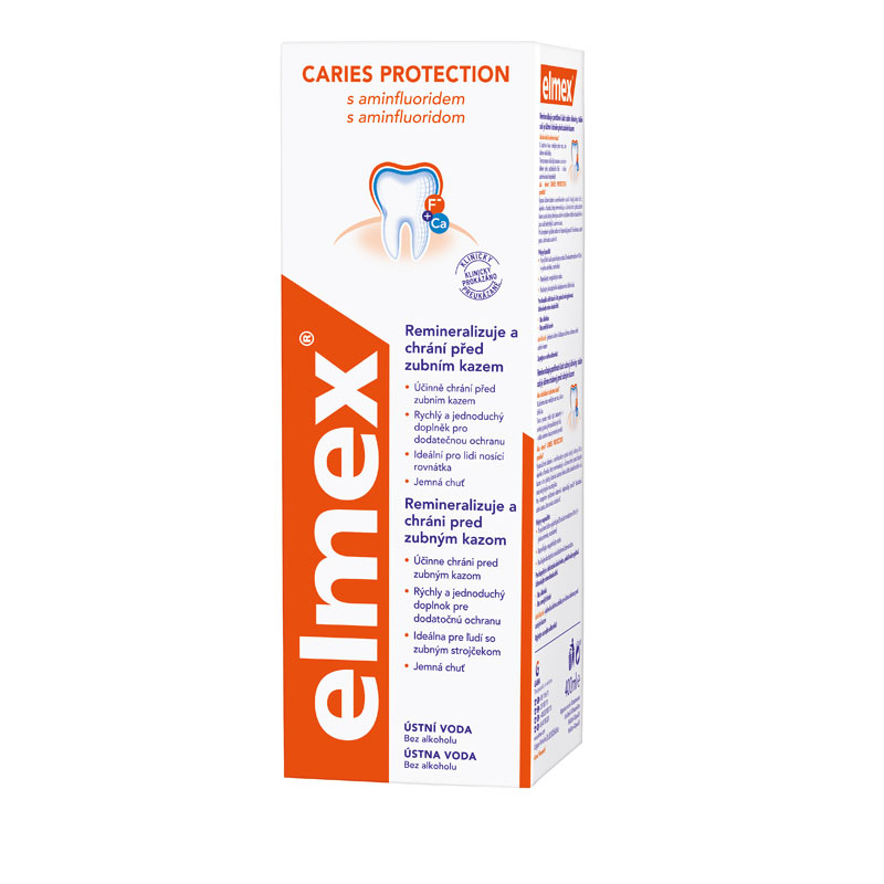 Ústní voda elmex® CARIES PROTECTION